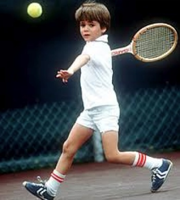 Andre Agassi prodigy