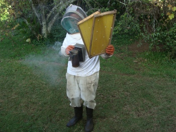 Beekeeping equipment; make sure your smoker stays alight.