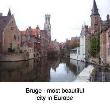 Bruge is surely one of the most beautiful cities in Europe.
