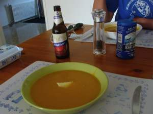 Bernard Preston's butternut soup recipe
