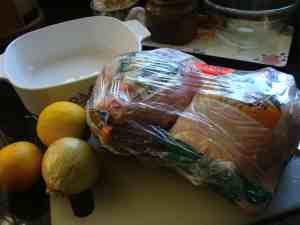 Chicken bbq packets
