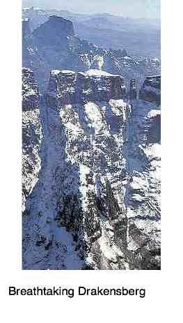 Drakensberg snow