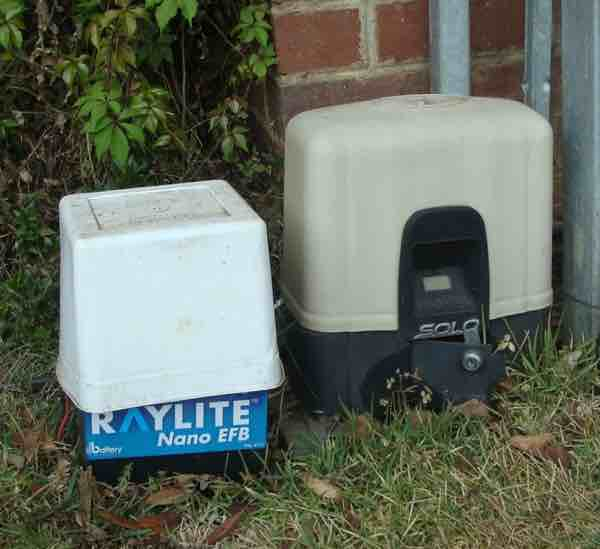 Gate battery ice cream container cover
