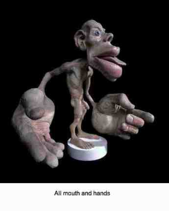The homunculus of the human brain shows the importance of the hands and mouth, including the TMJ.