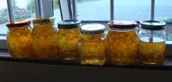Making lime marmalade is becoming a lost art.