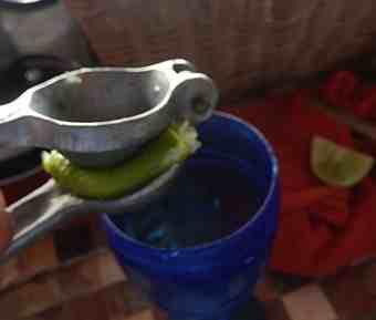 Lime press.