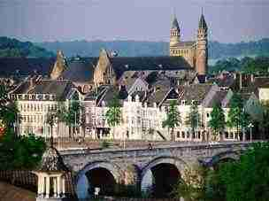 Maastricht is a nearby city where Bernard Preston makes many visits; it's central to Stones in my Clog.