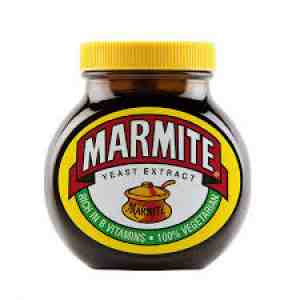 Marmite is a hydrogenated food.