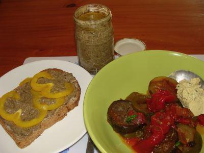 Olive garden menu tapenade