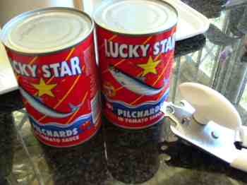 Pilchards Lucky Star.