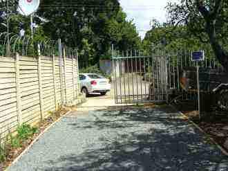 Remote controlled gate