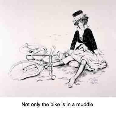 Rib pain treatment bicycle fall