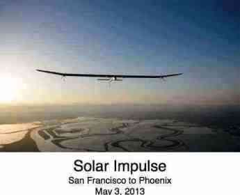 Solar Impulse flew around the world using energy from the sun alone.