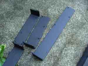 Solar panel brackets