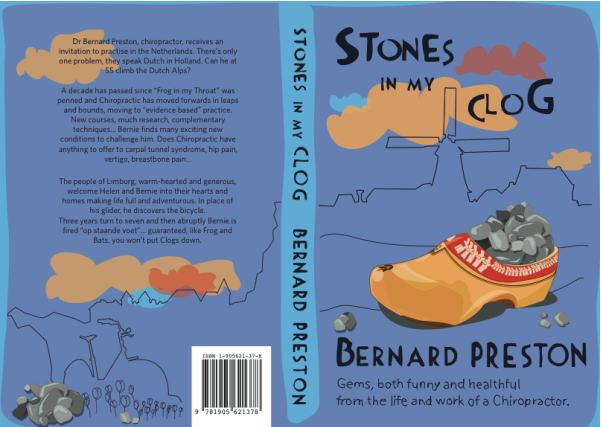 Cover of Stones in my Clog by Bernard Preston.