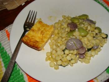 Quick succotash recipe