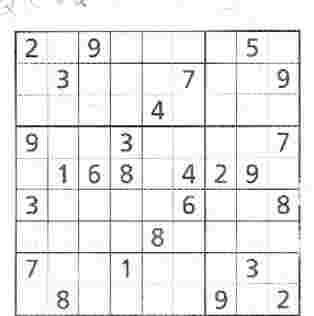 Bernard Preston loves sudoku
