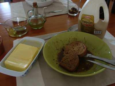 Tahini bread 1