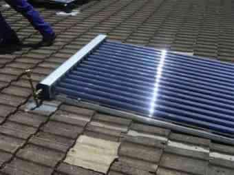 Solar tubes finished