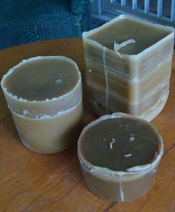pure raw bees wax