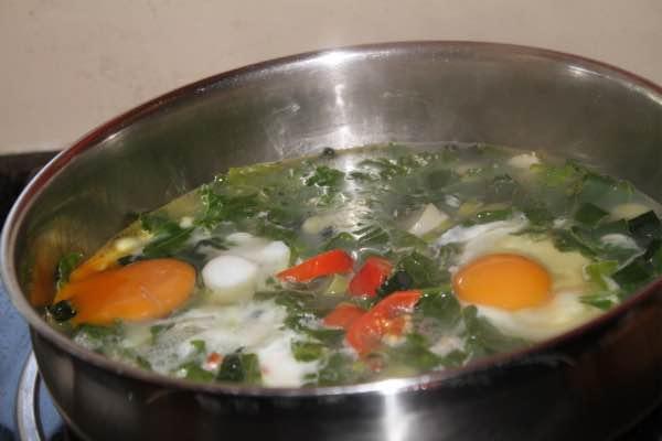 Eggs Hilton is Bernard Preston's daily breakfast; it keeps his blood glucose steady, neither high nor low.