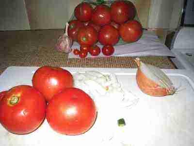 Fresh tomato recipes