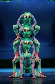 The frogs from Swan Lake.
