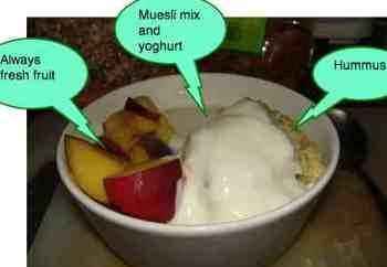 Quaker oats recipes muesli fruit.