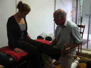 The Slump and Flip tests for sciatica.