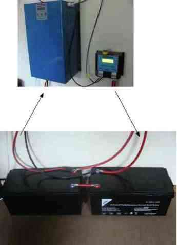 The heart of your solar generator is a couple batteries, MPPT and inverter.