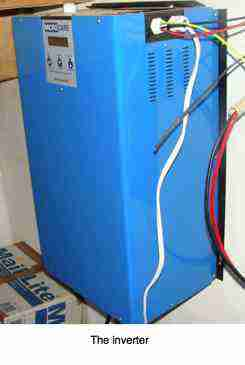 A 5kW inverter can be attached to the wall.