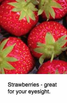 Strawberries eyesight