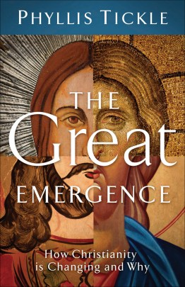 The Great Emergence cover, a book by Phyllis Tickle.