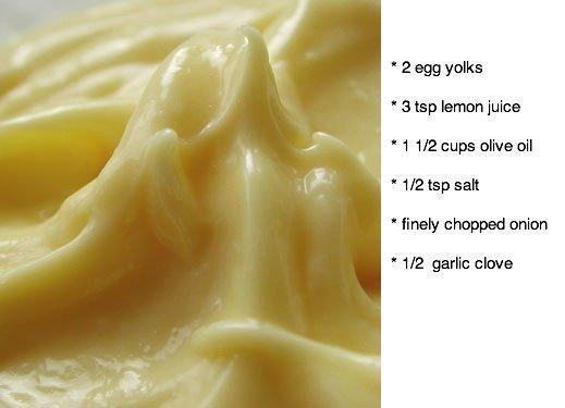 mayonaise homemade