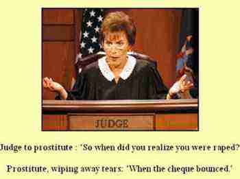 The prostitute and the judge.