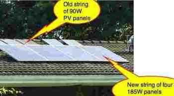 Bernard Preston's solar power generator